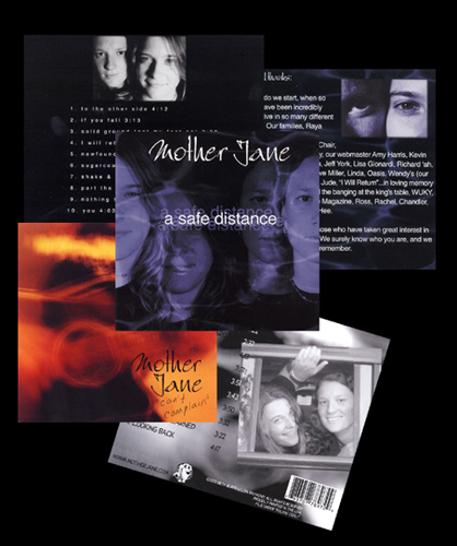 Mother Jane - A Safe Distance (2001) & Can't Complain, back only (2003)