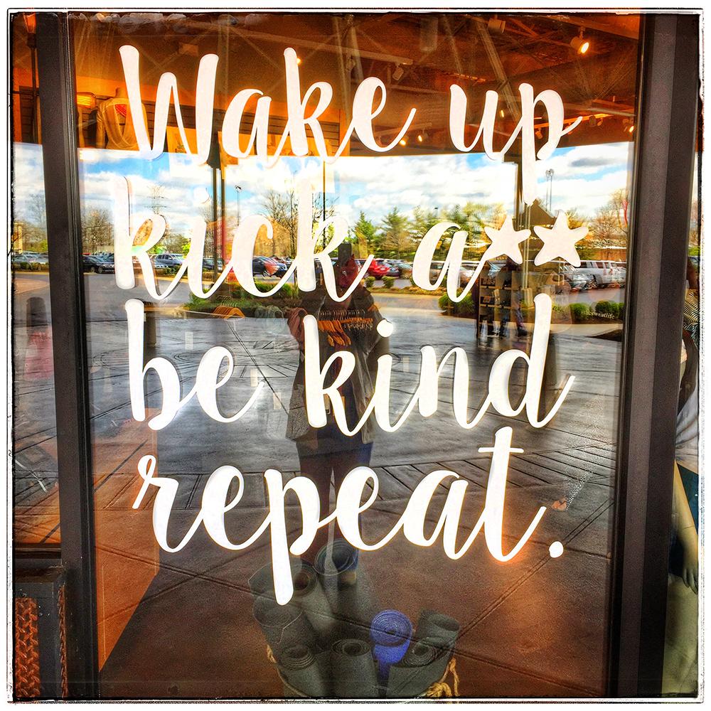 wake up (snapseed)